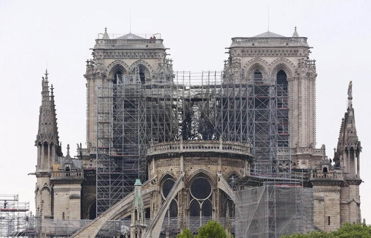 Phục dựng Nhà thờ Đức Bà Paris: Nhiều khám phá bất ngờ dưới lớp tro tàn